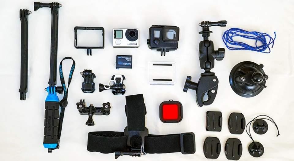 10 Aksesoris Kamera Gopro Terbaik  2015, Lengkap dengan Harganya!