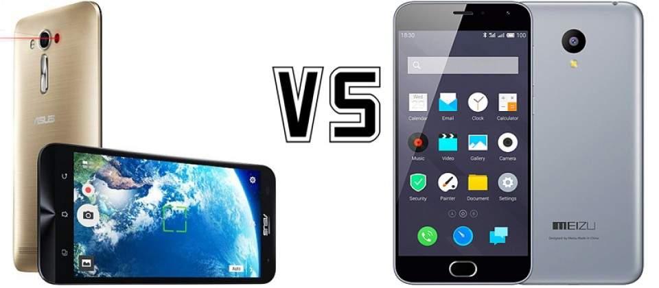 Asus Zenfone 2 Laser vs Meizu M2: Pilih Kamera atau Kapasitas Baterai