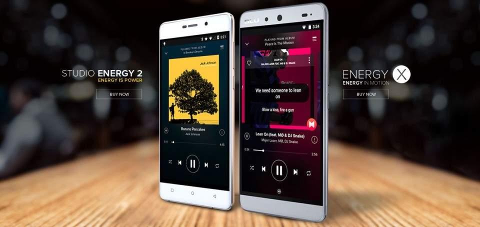 Blu Studio Energy 2 dan Blu Energy X, Smartphone dengan Baterai Monster