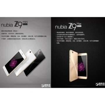ZTE Nubia Z9 Max Elite dan ZTE Nubia Z9 Mini Elite Dirilis Akhir Oktober