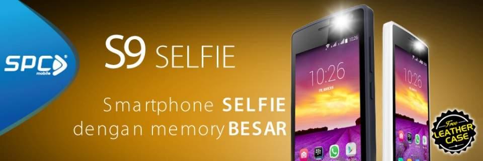 SPC S9 Selfie, Ponsel Selfie Murah Seharga 700 ribuan