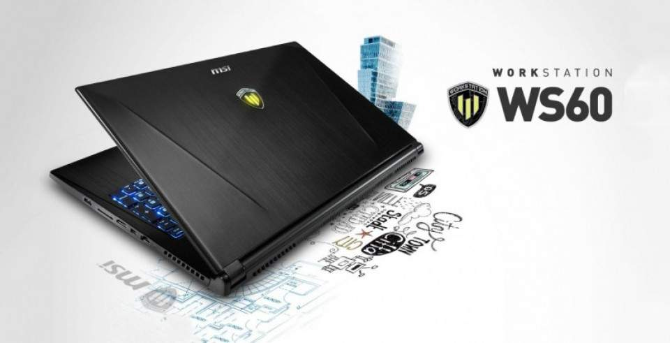 MSI WS60, Laptop Kantoran Performa Gahar