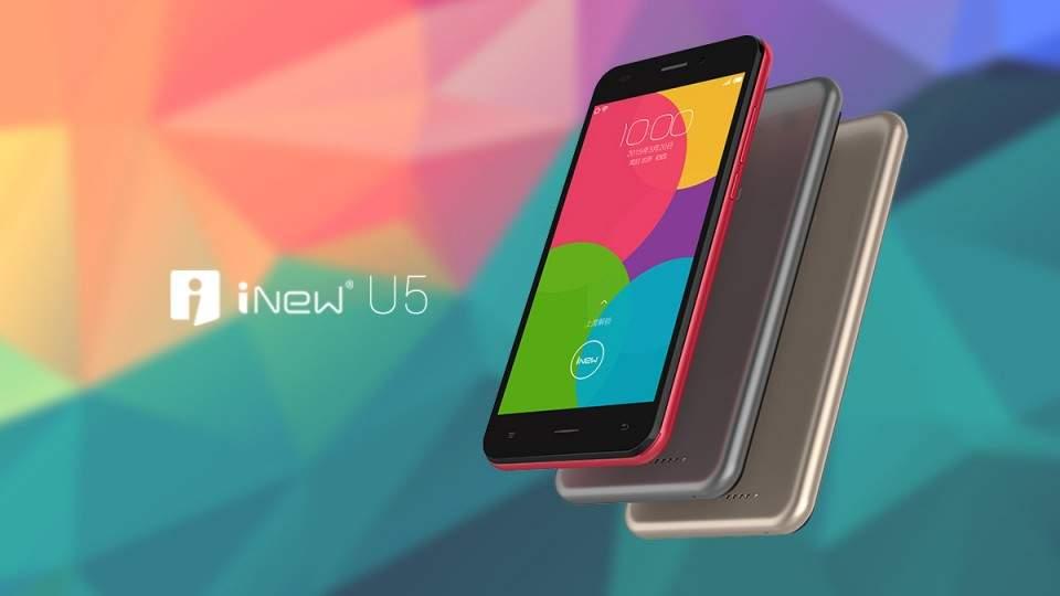 iNew U5, Ponsel Android 4G LTE Murah Meriah