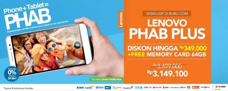 Blibli.com Pangkas Harga Lenovo PHAB di INDOCOMTECH 2015