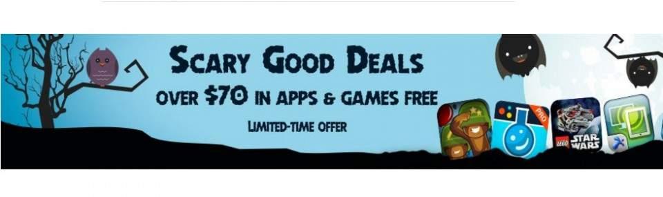Rayakan Halloween Dengan 32 Game dan Aplikasi Premium Gratis Dari Amazon