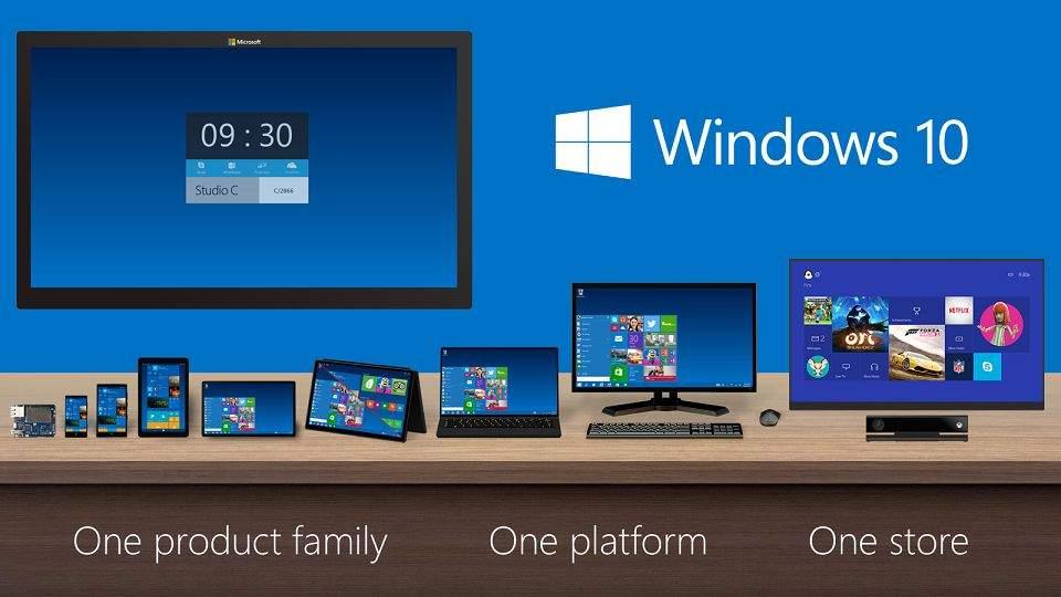 Pasar Windows 10 Hampir Mencapai 8 % di Oktober 2015