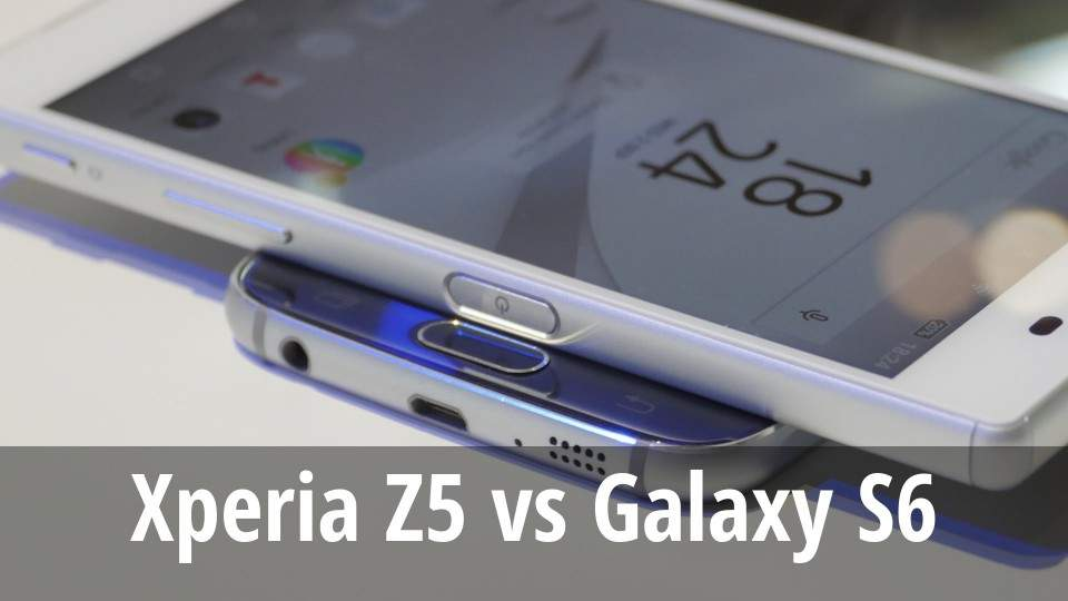 Video Duel Kecepatan dan Kamera Xperia Z5 Vs Galaxy S6 Edge