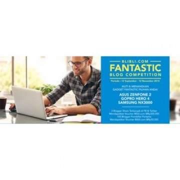 Ikuti Lomba Menulis di Blibli.com, Berhadiah GoPro HERO 4 dan Zenfone 2