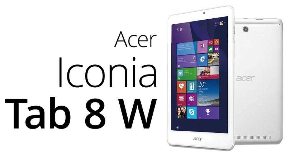 Acer Rilis Iconia Tab 8 W, Tablet Windows 10 Terbaru di Jepang