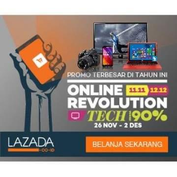 5 Smartphone Diskon di atas 45% di Lazada Tech Week