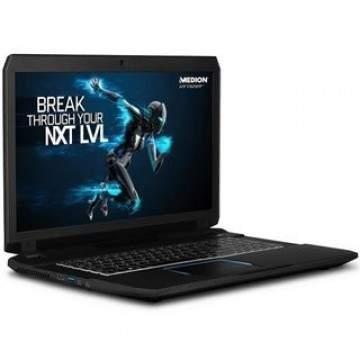 Laptop Gaming Medion Erazer X7843 Berlayar 17,3 inci dan Mesin Intel Skylake