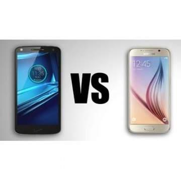 Perbandingan Motorola Droid Turbo 2 dengan Samsung Galaxy S6