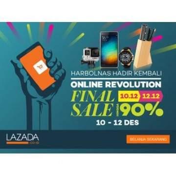 Banjir Promo Smartphone Lenovo dan Infinix di Hari Belanja Nasional Lazada 2015
