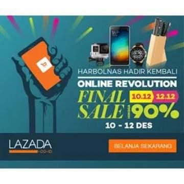 Cara Cepat Ikuti HarBolNas dan Menangkan Flash Sale 12/12 di Lazada