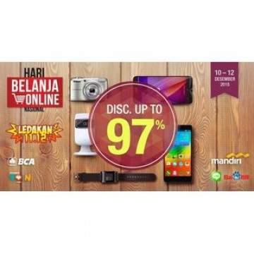 Promo HarBolNas: Smartphone 5 inci Mulai Dari Sejutaan di Bhinneka