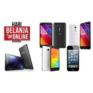 Banyak Smartphone dan Tablet Murah di Harbolnas, Ini Dia Rekomendasinya