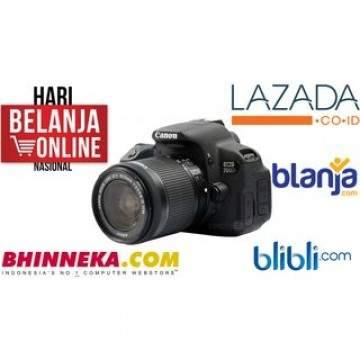 Harga 5 Kamera Keren di Lazada.co.id, BliBli.com, Blanja.com dan Bhinneka.com