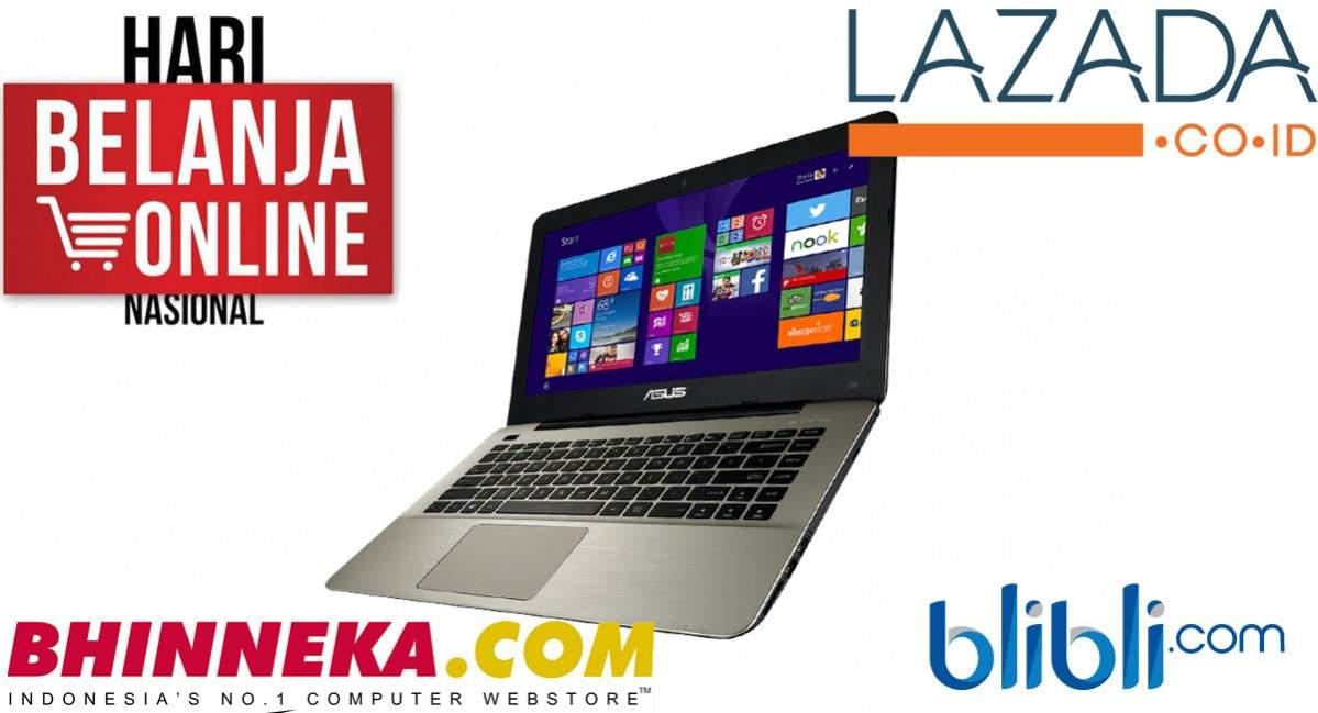 Perbandingan Promo Laptop Dan Desktop Lazada Vs Blibli Vs