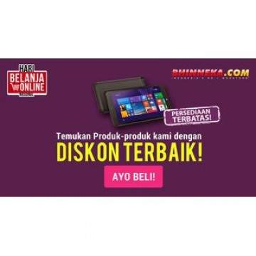 Daftar Promo Smarphone dan Tablet Advan Harbolnas Bhinneka