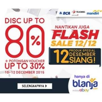 Daftar Produk Flash Sale Blanja.com Mulai Hari ini Sejak Pukul 12 Siang