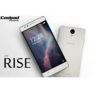 Coolpad Rise A116, Ponsel Low-end Sejutaan Berdesain Mewah