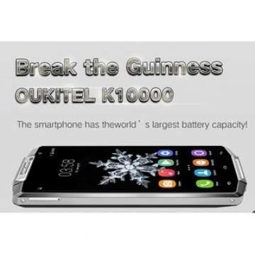 Smartphone dengan Baterai 10.000 MAh Oukitel Kini Siap Dipesan!