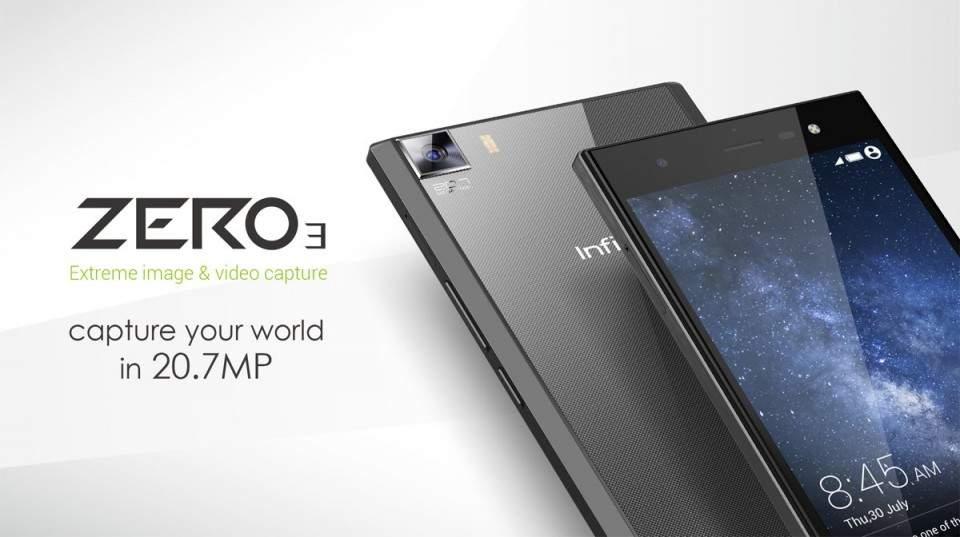 Infinix Zero 3 Siap Rilis dengan Kamera 20,7MP Super Dari Sony