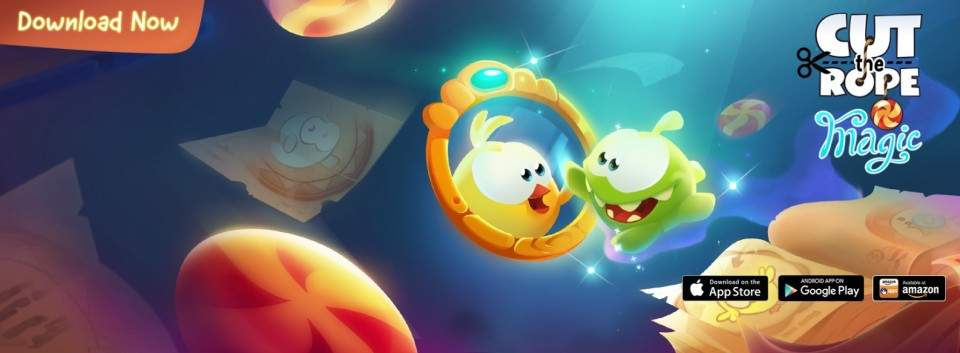 Game Cut The Rope: Magic, Makin Seru dan Menantang