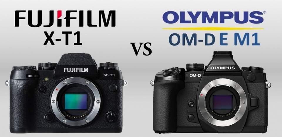 Dua Kamera Mirrorless Terbaik di Pasaran, Fujifilm X-T1 dan Olympus OM-D E-M1