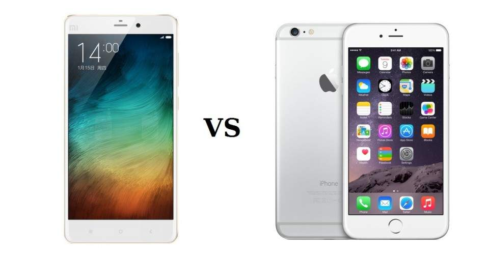 Pilih Mana, Xiaomi Mi Note Pro atau iPhone 6 Plus?