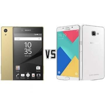 Smartphone RAM 3GB: Sony Xperia Z5 vs Samsung Galaxy A9