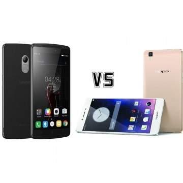 Smartphone Layar 5,5 Inci: Lenovo K4 Note vs Oppo R7s
