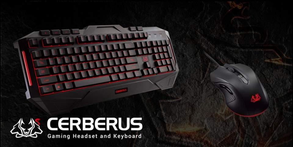 Asus Perkenalkan Peripheral Game Terbaru Bernama Asus Cerberus