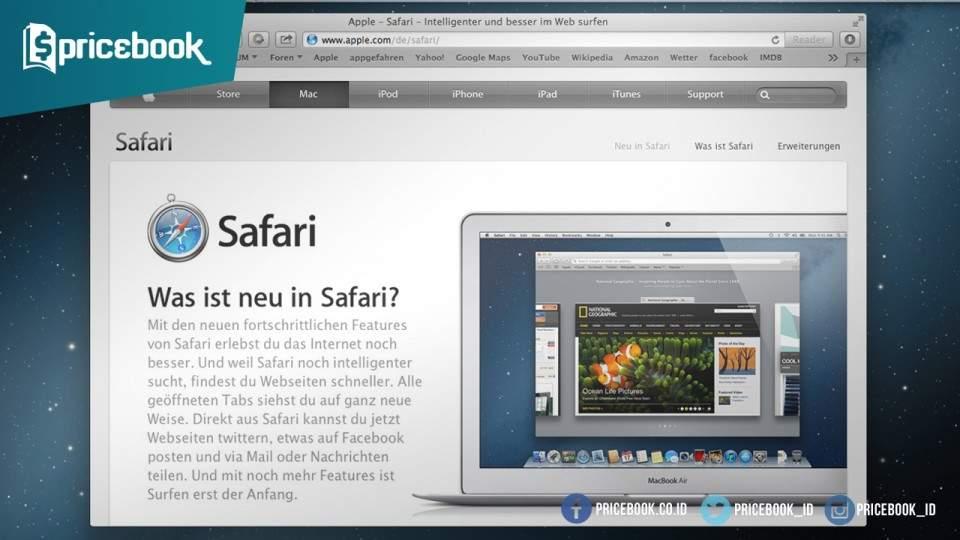 7 Browser Terbaik Untuk Mac OS X yang Bisa Kamu Pilih