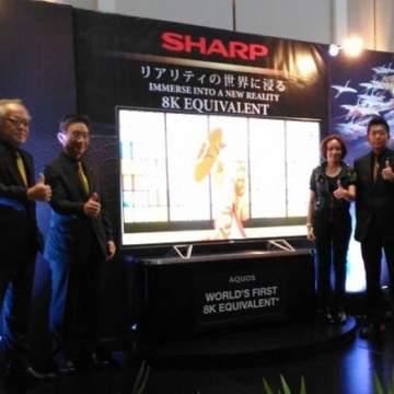 Dua Pabrik Elektronik Tutup, SHARP Justru Rilis TV Setara 8K