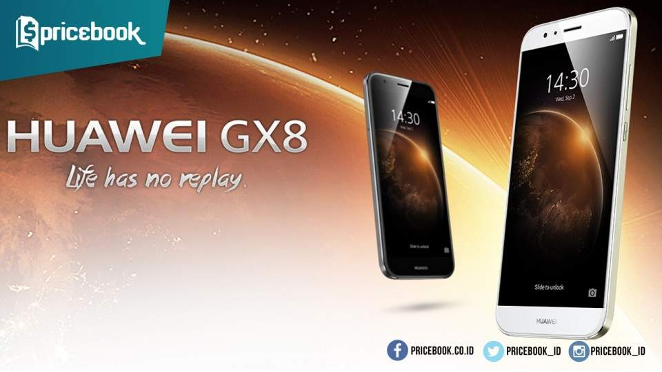 Smartphone Huawei GX8 Rilis, Bawa Bodi Metal dan Kamera 13MP