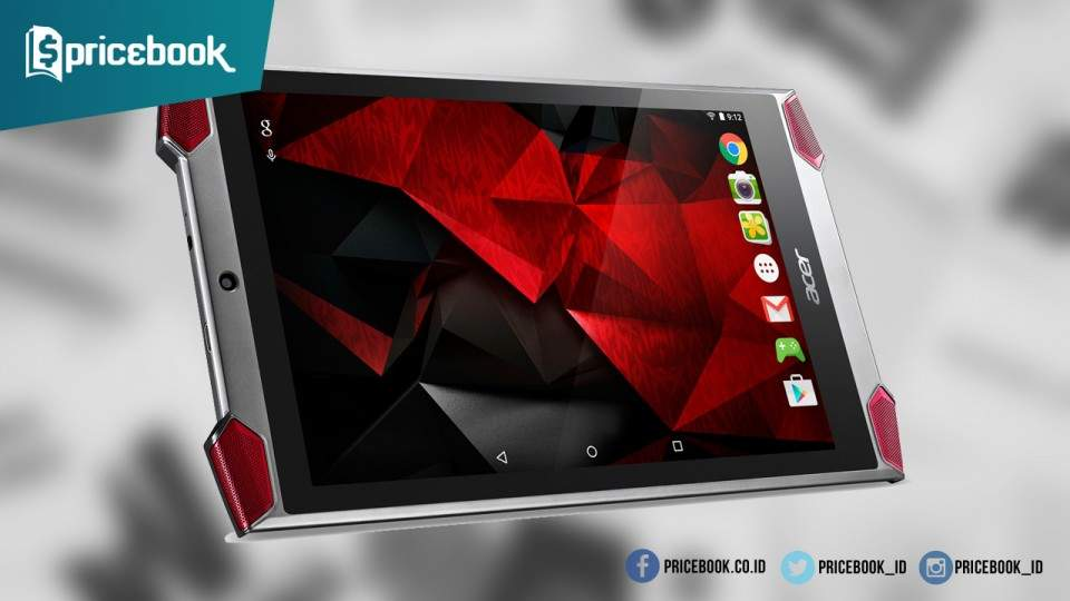 Tablet Gahar Acer Predator 8 Telah Tersedia di Indonesia