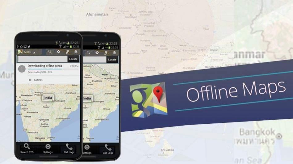 Aplikasi Navigasi offline