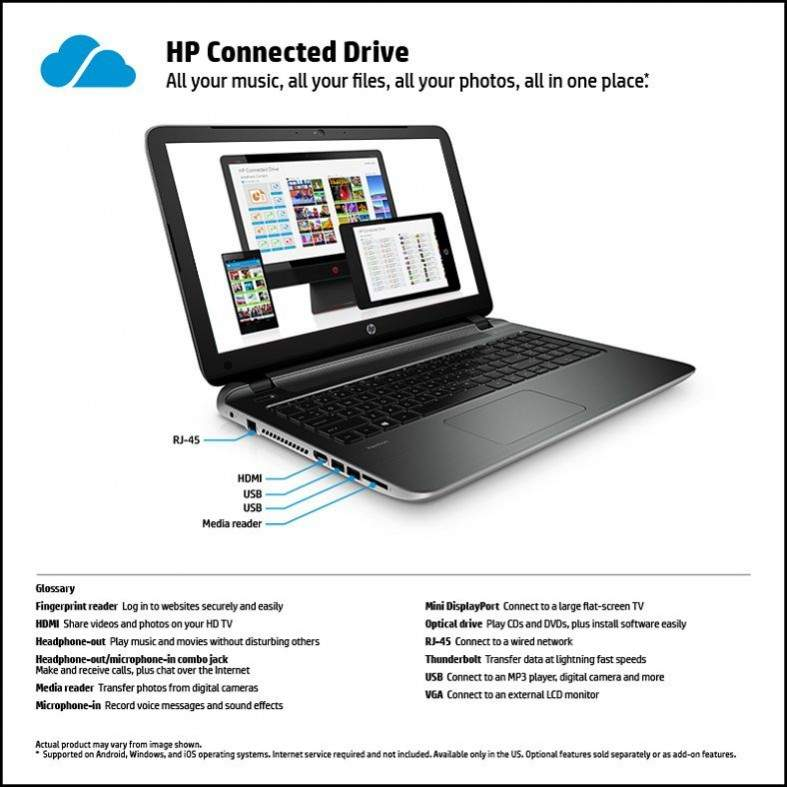 HP Pavilion TouchSmart 15-P051US