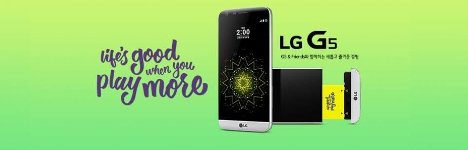 LG G5 Tantang Samsung Galaxy S7 dan Galaxy S7 edge di MWC 2016