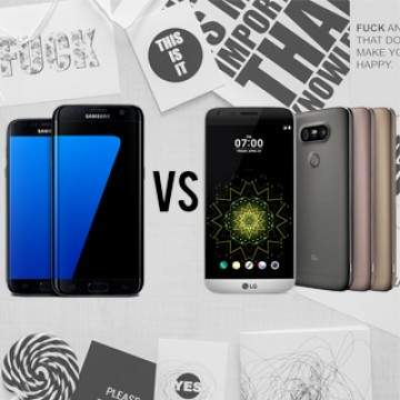 Komparasi LG G5 VS Samsung Galaxy S6 Edge+, Siapa Paling Tangguh?