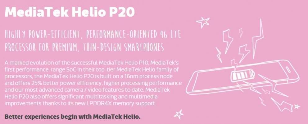 MediaTek P20