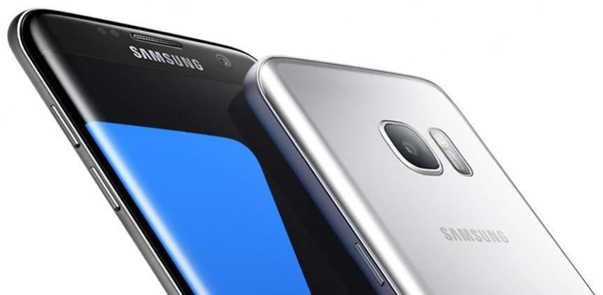 Layar Galaxy S7