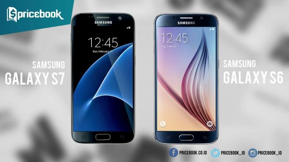 Perbedaan Spesifikasi dan Fitur Samsung Galaxy S7 Dari Galaxy S6