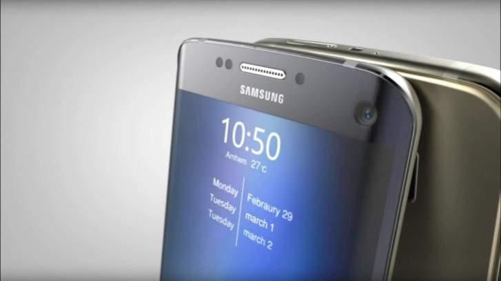 Layar Galaxy S7 Edge