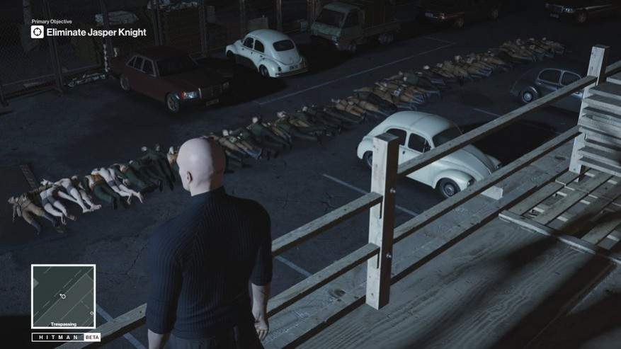 Hitman Beta Game Play