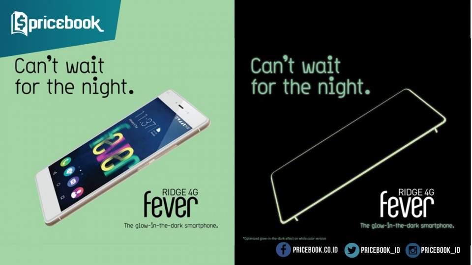 Wiko Ridge 4G, Smartphone dengan Desain Glow In The Dark