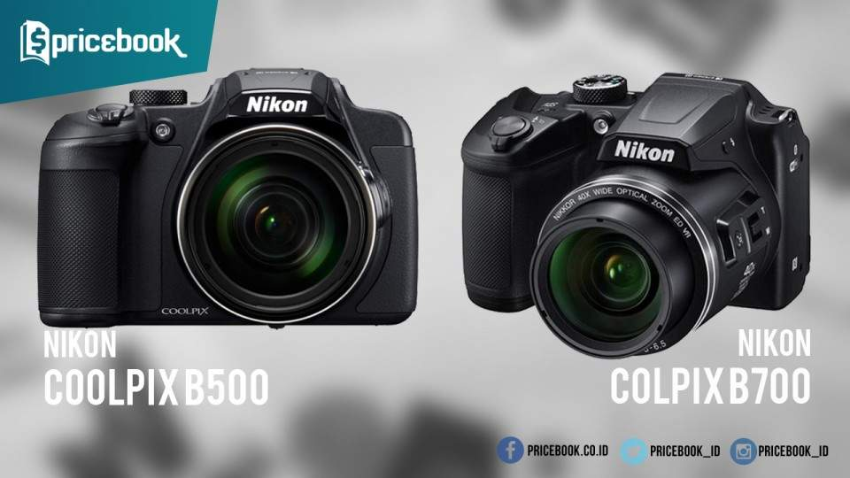 Duo Kamera Superzoom Nikon Coolpix B500 dan Coolpix B700