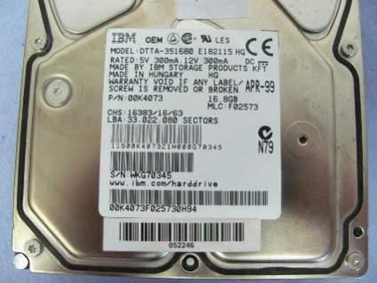 Sejarah hard disk