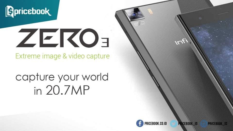 Infinix Zero 3 di Indonesia Dijual Mulai 3 Maret di Lazada